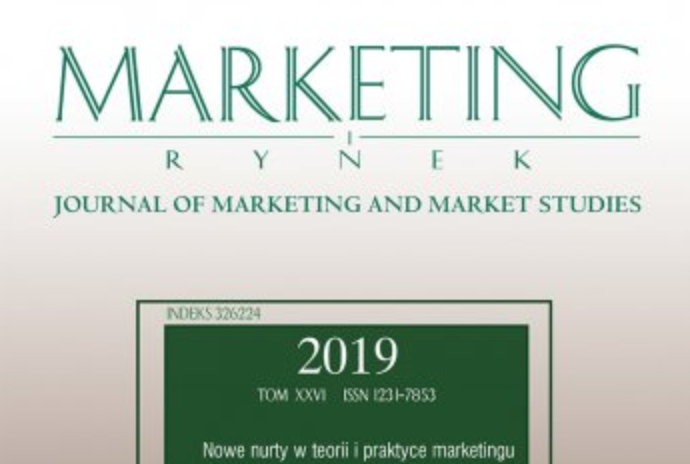 """Design thinking in customer experience management – Experience Marketing """"Marketing i rynek"""""""